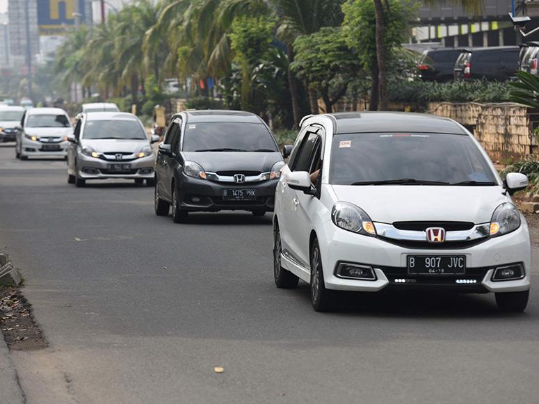 Konsumsi Bahan Bakar Honda Mobilio Tembus Rekor Baru 26,7 km/liter di Seri Ketiga Tantangan Hemat Honda Mobilio Wisata Plus