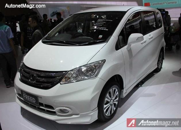 Honda Freed Terbaru Positif Meluncur Tahun Ini!