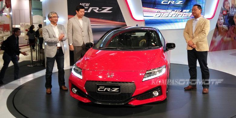 Honda New CR-Z Kini Lebih Modern
