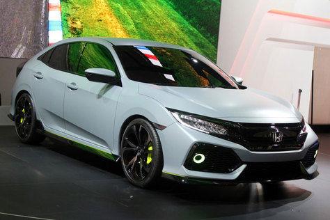 Prototype Honda Civic Hatchback Resmi Buka Tudung!