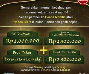 PROMO HONDA SEMARAK MUDIK LEBARAN MEI 2019 (Makassar)